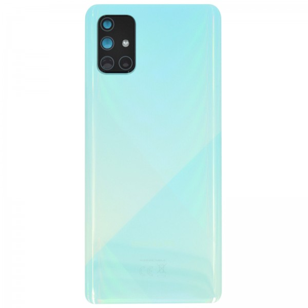 Samsung Galaxy A71 (A715F) Original Akkudeckel Serviceware Prism Crush Blue