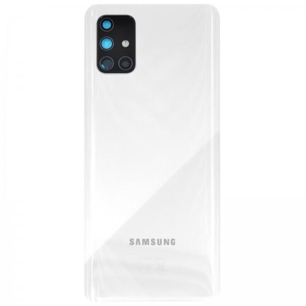 Samsung Galaxy A71 (A715F) Original Akkudeckel Serviceware Prism Crush White GH82-22112B