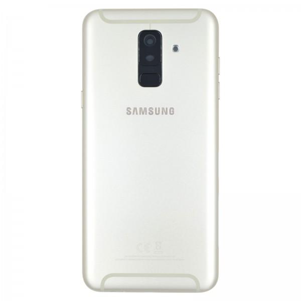 Samsung Galaxy A6 Plus 2018 (A605F) Original Akkudeckel Serviceware Gold GH82-16428D
