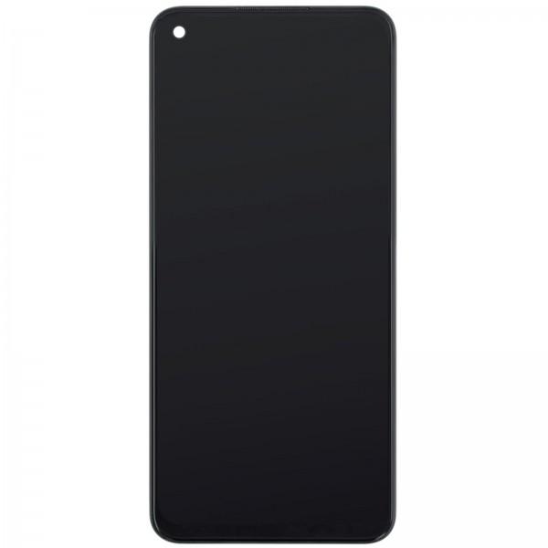 Oppo A72 ori Display mit Rahmen schwarz