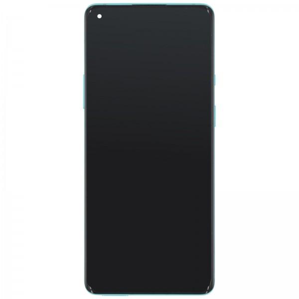 Oneplus 8 Pro ori neu Displayeinheit mit Rahmen Glacial Green