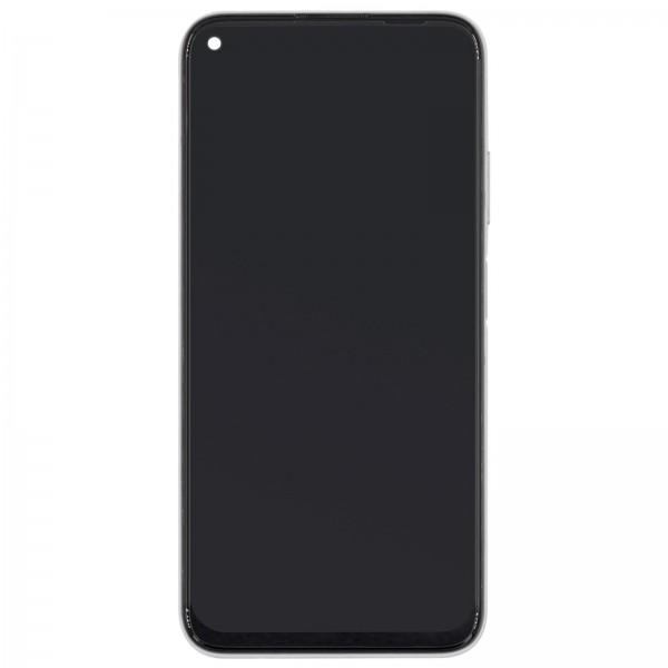Huawei P40 Lite Original Displayeinheit Serviceware Breathing Crystal / Pink 02353KFV