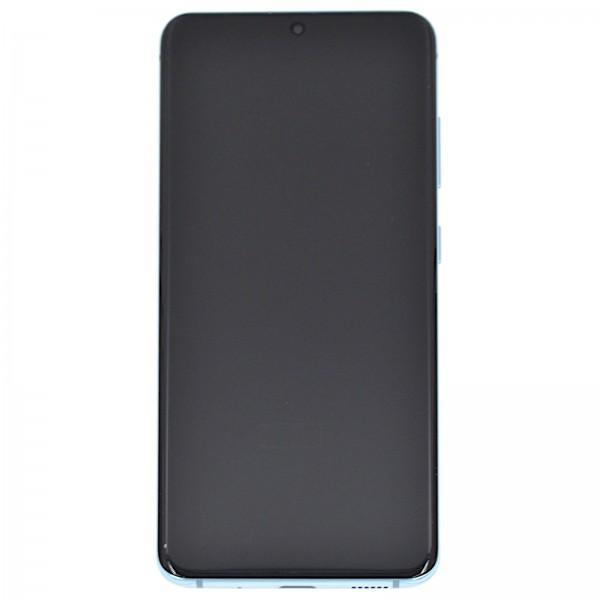 Samsung Galaxy S20 (G980F)/S20 5G (G981F) Original Displayeinheit Serviceware Cloud Blue GH82-22131D