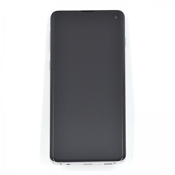 Samsung Galaxy S10 (G973F) Original Displayeinheit Serviceware Prism White GH82-18850B