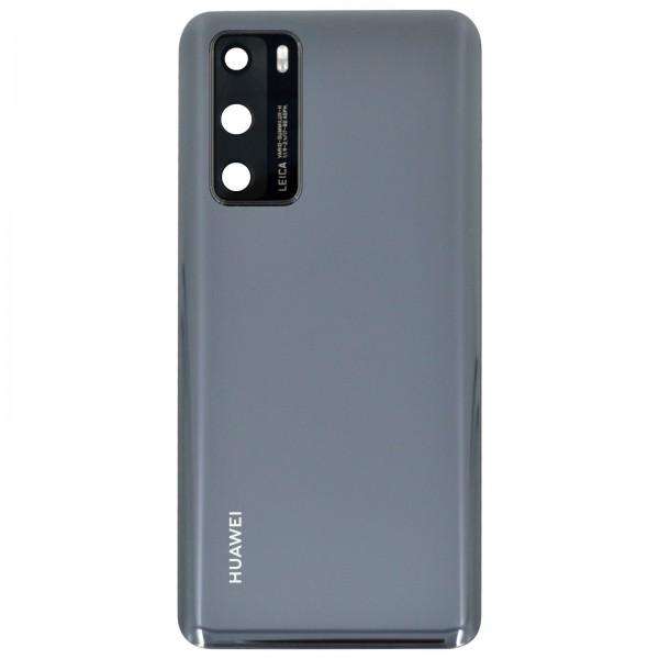 Huawei P40 Original Akkudeckel Serviceware Black 02353MBJ