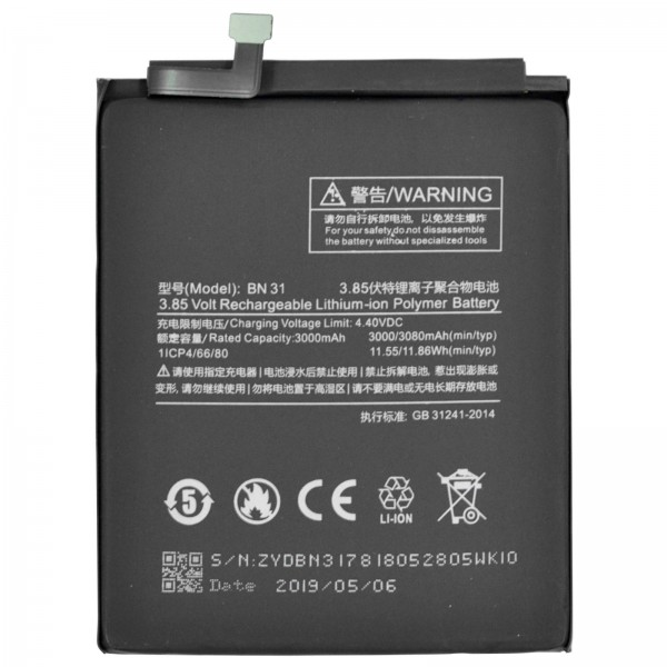 Xiaomi Mi A1 ori Akku