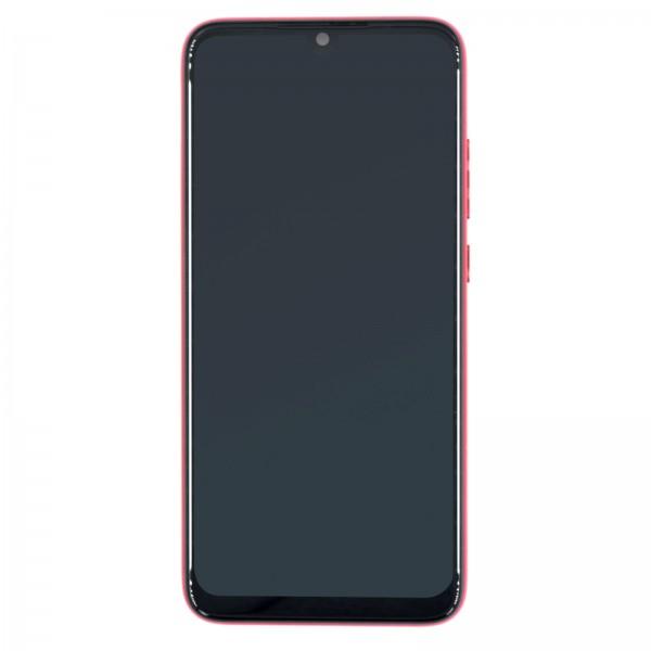 Redmi Note 7 ori Display mit Rahmen rot