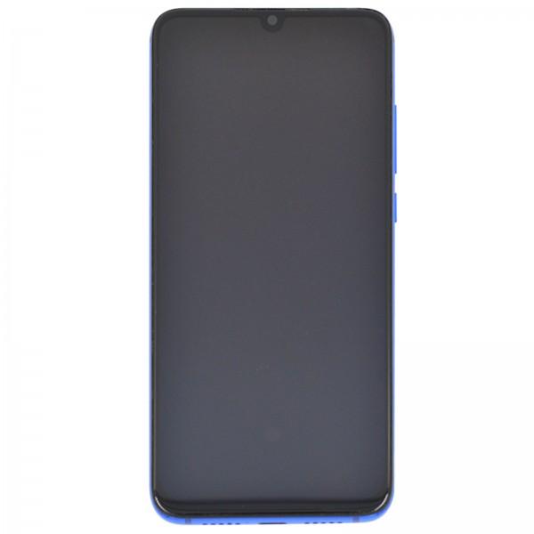 Xiaomi Mi 9 Lite ori Display mit Rahmen blau