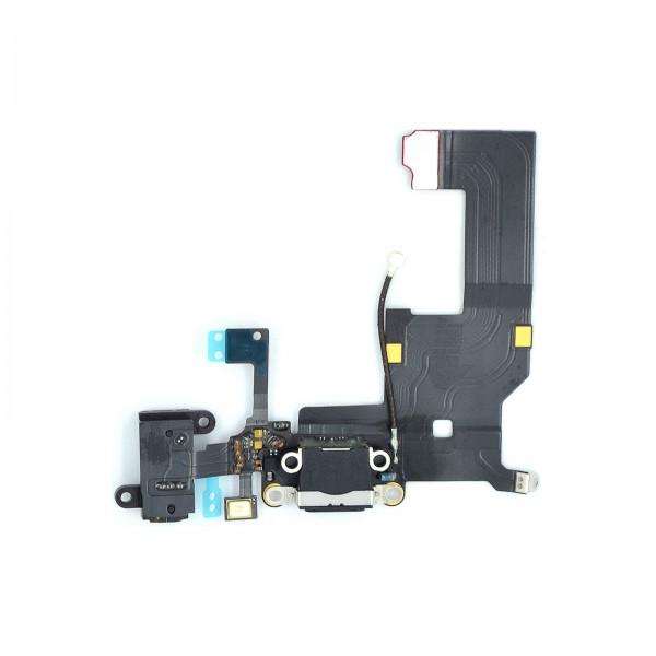 iPhone 5 Lightning Ladebuchse Chargeflex Dockconnector schwarz ori neu