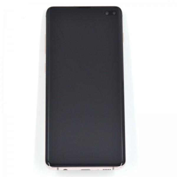 Samsung Galaxy S10 Plus (G975F) Original Displayeinheit Serviceware Ceramic White GH82-18849J