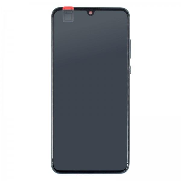 Huawei P30 Lite (MAR-L21A, MAR-LX1A) Original Displayeinheit Serviceware Peacock Blue 02352RQA