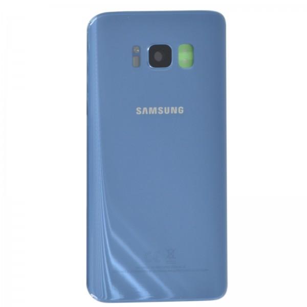 Samsung Galaxy S8 (G950F) Original Akkudeckel Serviceware Coral Blue GH82-13962D
