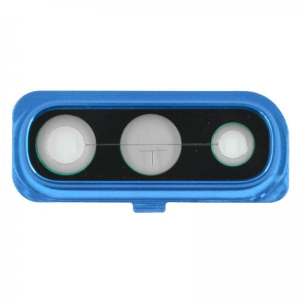 Samsung Galaxy A50 (A505F) Original Kameralinse Frame Serviceware Blue GH98-44064C
