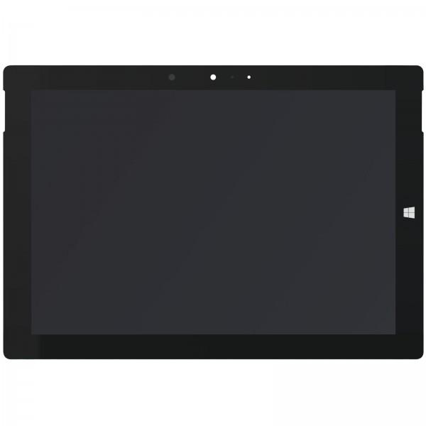 Surface Pro 3 (1631) Display schwarz ori neu mit Kleberahmen