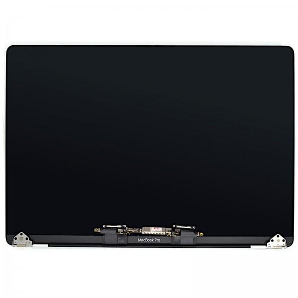 """LCD für MacBook Pro 15"""" (A1990 EMC 3215) mit Gehäuse silber new assembly"""