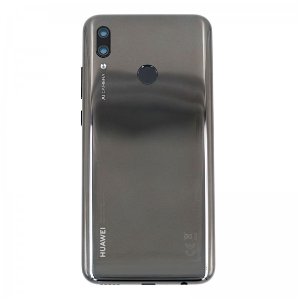 Huawei P smart 2019 Original Akkudeckel Servicewarel Midnight Black 02352HTS