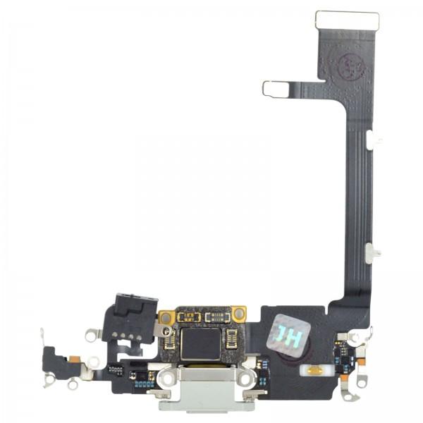 iPhone 11 Pro Lightning Ladebuchse Chargeflex Dockconnector mit IC weiß