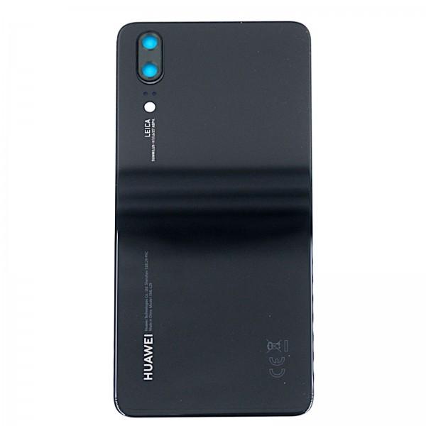 Huawei P20 Original Akkudeckel Serviceware schwarz 02351WKV