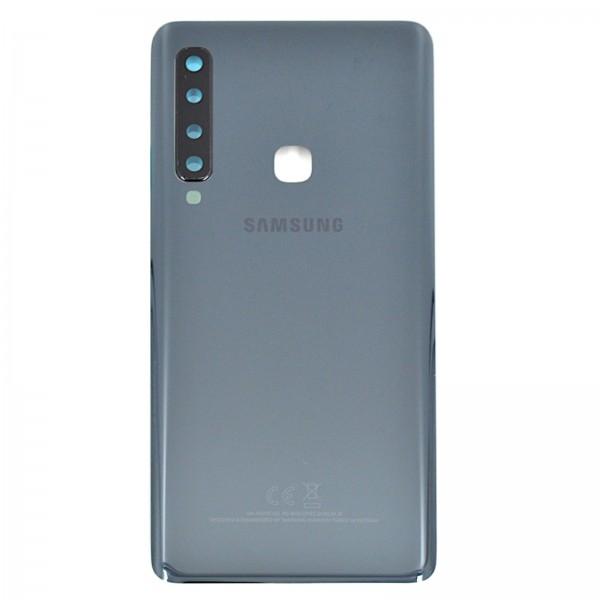 Samsung Galaxy A9 2018 Duos (A920F) Original Akkudeckel Serviceware Caviar Black GH82-18239A