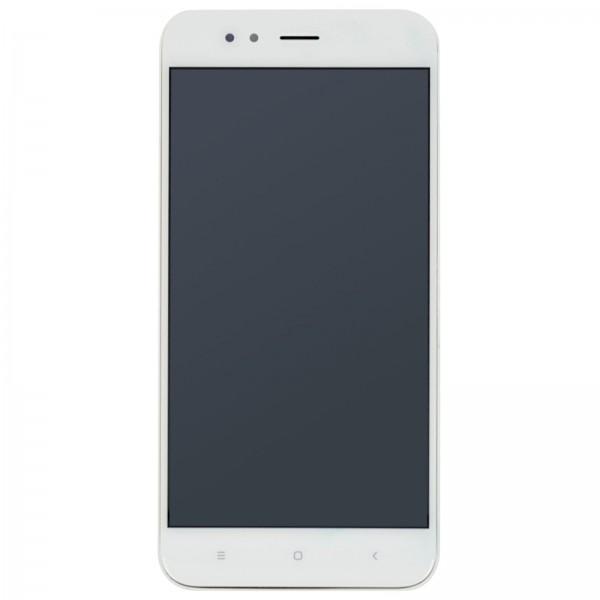 Xiaomi Mi A1 ori Display mit Rahmen weiß