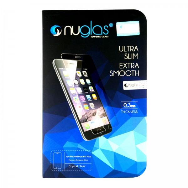 iPhone 6 PLUS/6S PLUS Schutzfolie Panzerglas Tempered Glass NUGLAS mit Blister