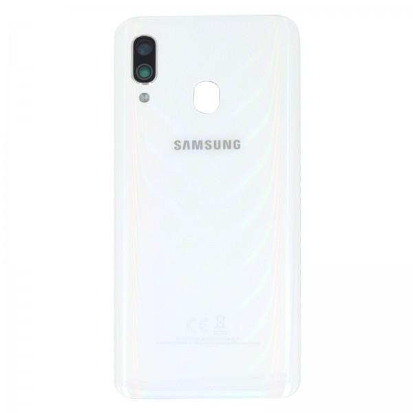 Samsung Galaxy A40 (A405F) Original Akkudeckel Serviceware White GH82-19406B