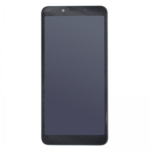 Redmi 6A ori Display mit Rahmen schwarz
