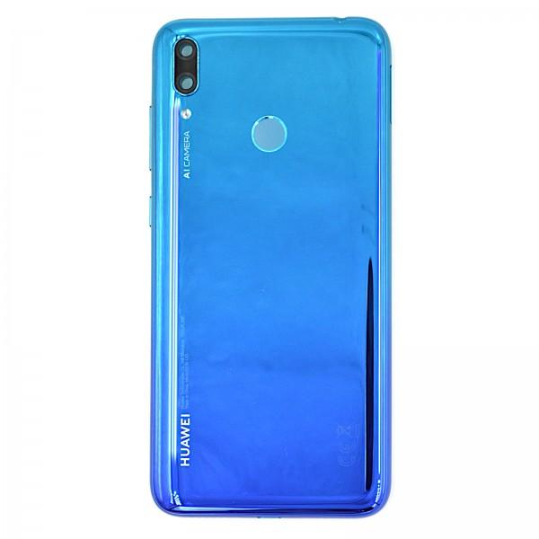 Huawei Y7 2019 Akkudeckel Serviceware Aurora Blue 02352KKJ