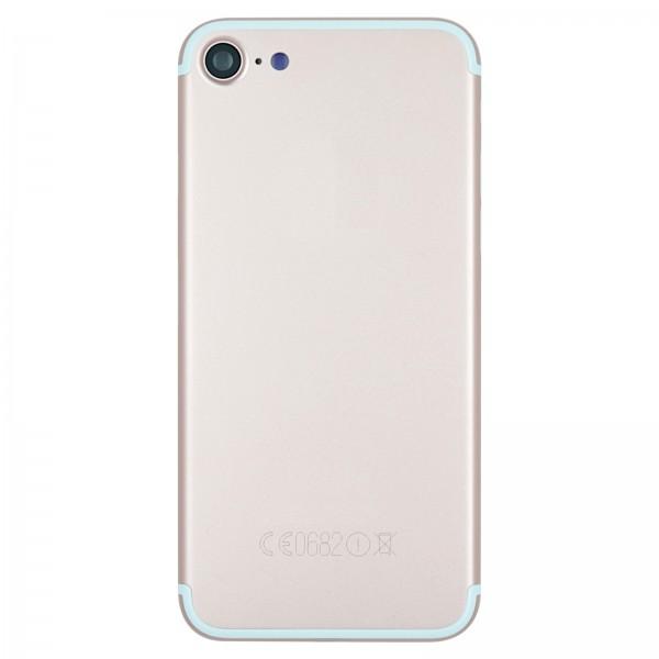 iPhone 7 Gehäuse Backcover rose gold mit Kameralinse