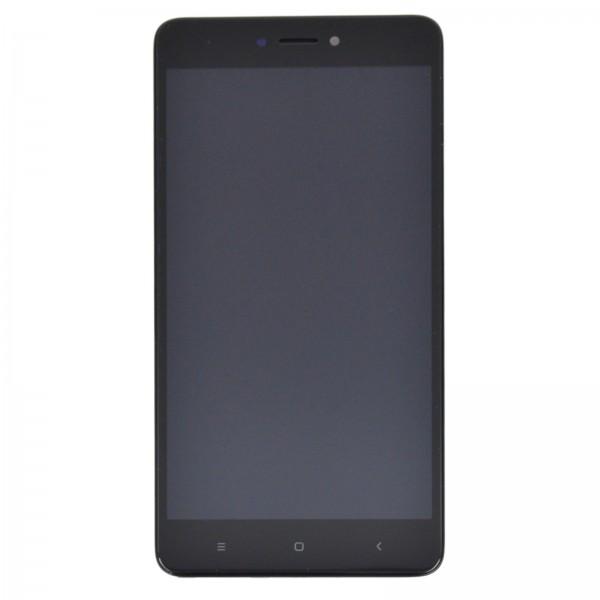 Redmi Note 4X ori Display mit Rahmen schwarz