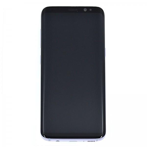 Samsung Galaxy S8 (G950F) Original Displayeinheit Serviceware Orchid Grey GH97-20457C