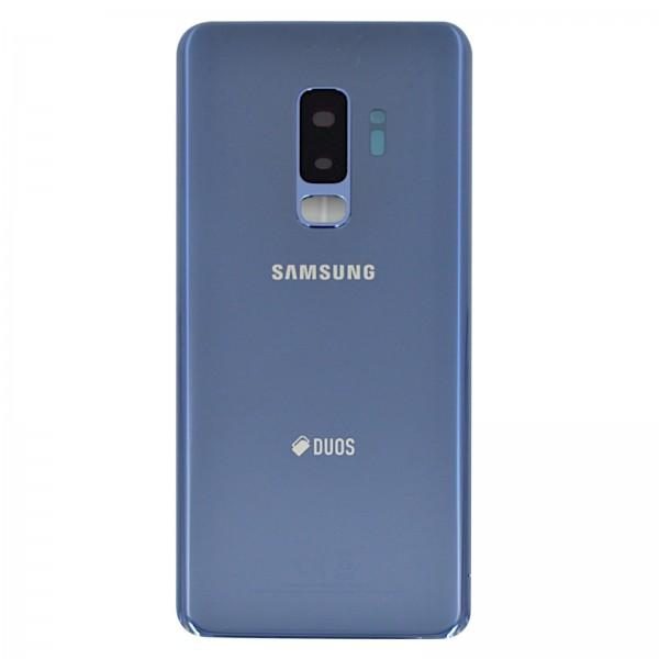 Samsung Galaxy S9 Plus Dual (G965F/DS) Original Akkudeckel Serviceware Coral Blue GH82-15660D