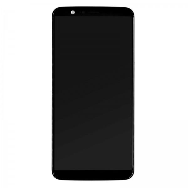 Oneplus 5T A5010 ori refurbished Displayeinheit mit Rahmen schwarz