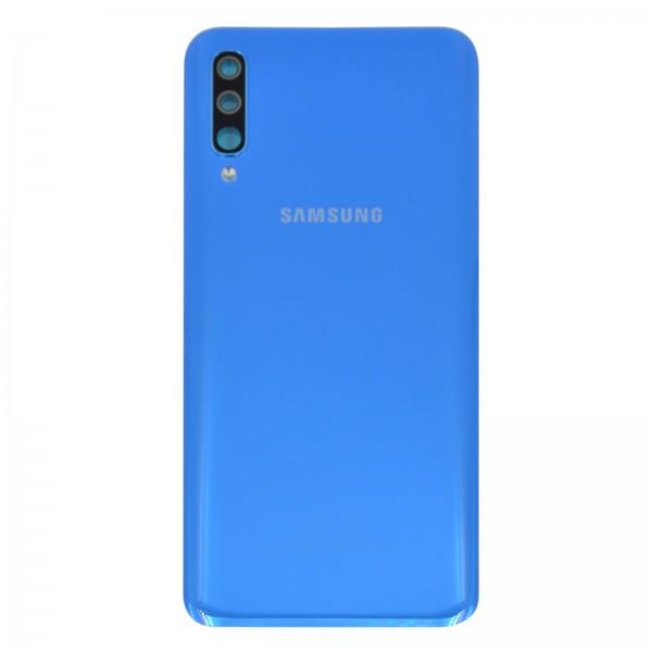Samsung Galaxy A50 (A505F) Original Akkudeckel Serviceware Blue GH82-19229C