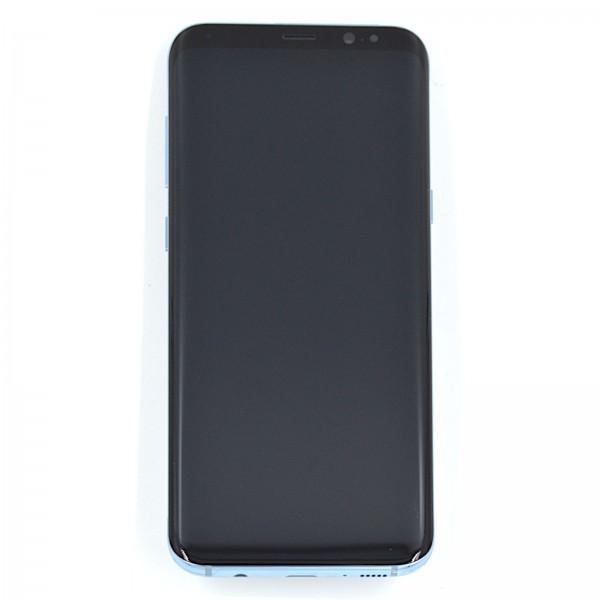 Samsung Galaxy S8 Plus (G955F) Original Displayeinheit Serviceware Coral Blue GH97-20470D