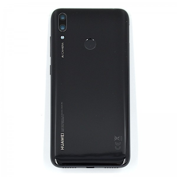 Huawei Y7 2019 Akkudeckel Serviceware Midnight Black 02352KER