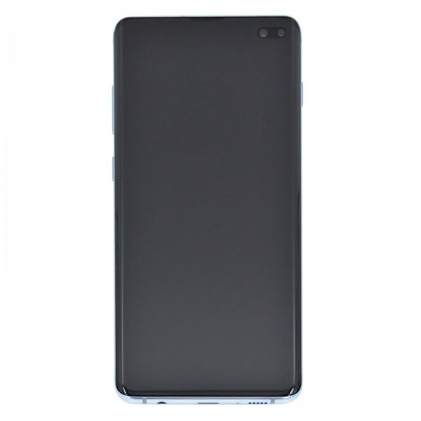 Samsung Galaxy S10 Plus (G975F) Original Displayeinheit Serviceware Prism Blue GH82-18849C