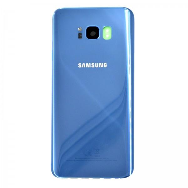 Samsung Galaxy S8 Plus (G955F) Original Akkudeckel Serviceware Coral Blue GH82-14015D