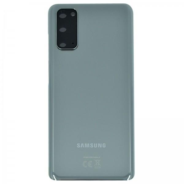 Samsung Galaxy S20 (G980F)/S20 5G (G981F) Original Akkudeckel Serviceware Cosmic Gray GH82-22068A