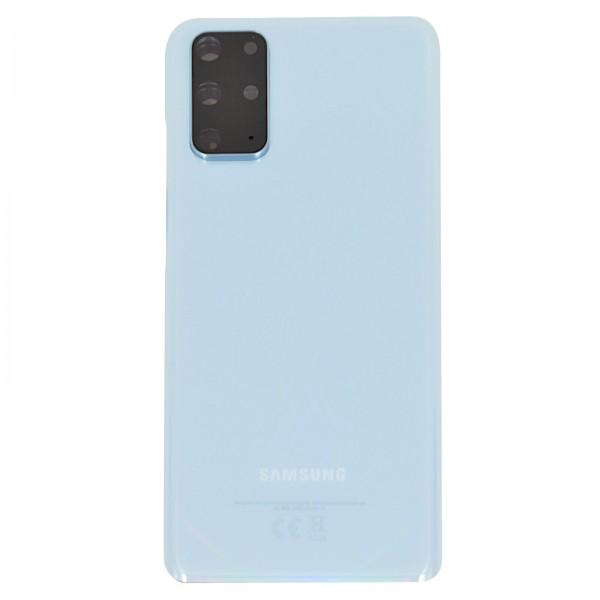 Samsung Galaxy S20+ (G985F)/5G (G986B) Original Akkudeckel Serviceware Cloud Blue GH82-22032D