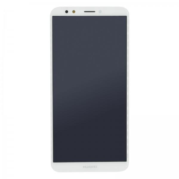 Huawei Y7 2018 Original Displayeinheit Serviceware Weiss 02351USB