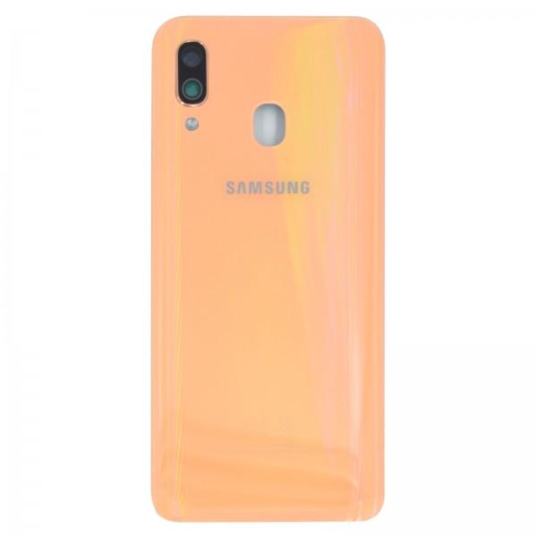 Samsung Galaxy A40 (A405F) Original Akkudeckel Serviceware Coral GH82-19406D