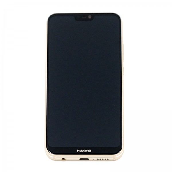 Huawei P20 Lite Original Displayeinheit Serviceware Platinum Gold 02351WRN