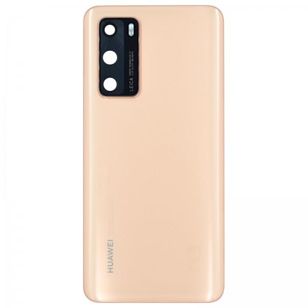 Huawei P40 Original Akkudeckel Serviceware Bush Gold 02353MGD