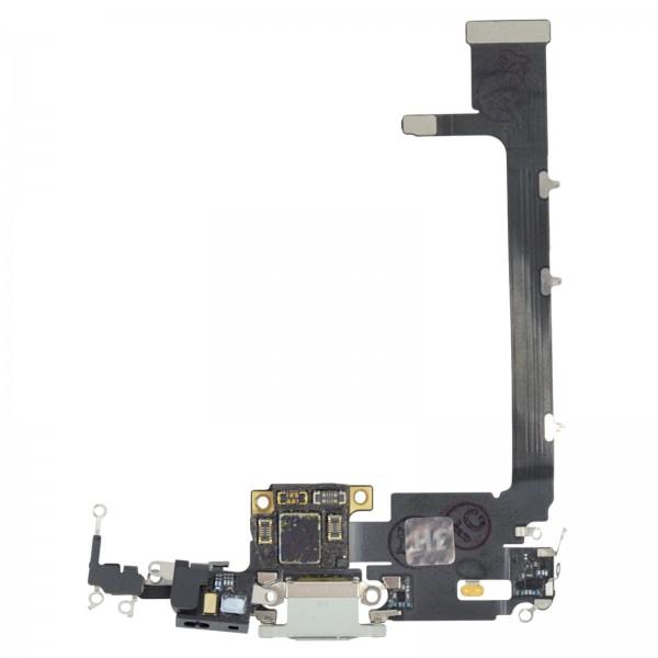 iPhone 11 Pro Max Lightning Ladebuchse Chargeflex Dockconnector mit IC weiß