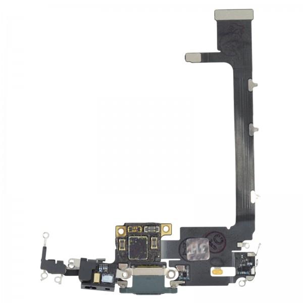iPhone 11 Pro Max Lightning Ladebuchse Chargeflex Dockconnector mit IC midnight green