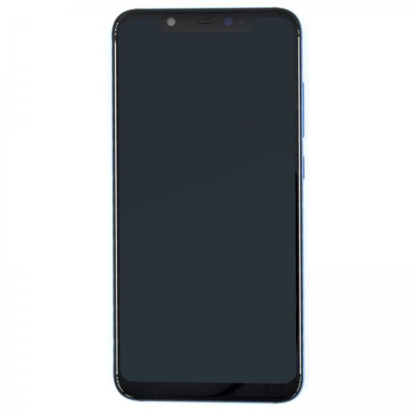 Xiaomi Mi 8 ori Display mit Rahmen blau