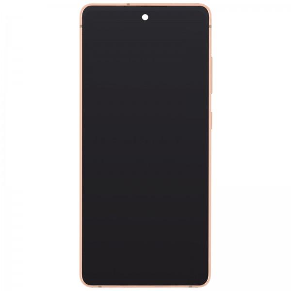 Samsung Galaxy S20 FE 4G (G780) Display + Frame Orange GH82-24219F
