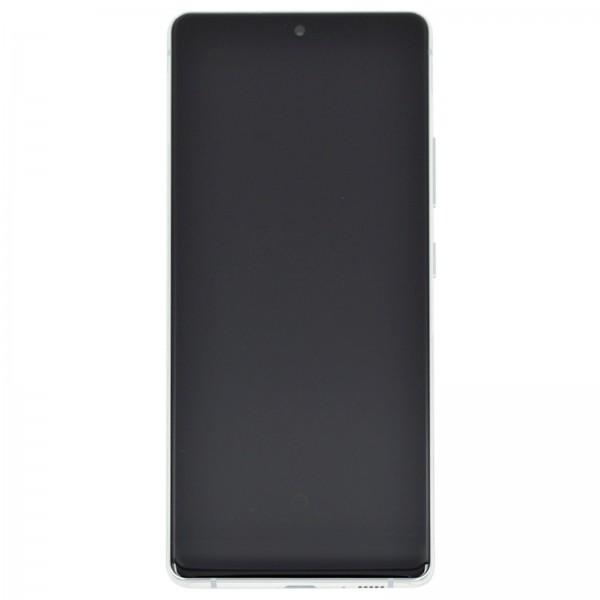 Samsung Galaxy S10 Lite Original Displayeinheit Serviceware Prism White GH82-21672B