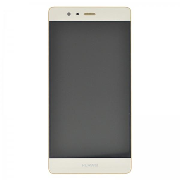 Huawei P9 Original Displayeinheit Serviceware Gold 02350SHB